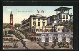 Cartolina Fiesole, Aurora Hotel - Andere Steden