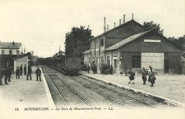 MOURMELON (Marne) - La Gare De Mourmelon Le Petit - N° 14 - Sonstige Gemeinden