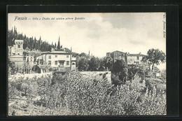 Cartolina Fiesole, Villa E Studio Del Celebre Pittore Boecklin - Andere Steden