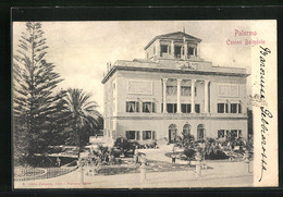 Cartolina Palermo, Casino Belmonte - Palermo
