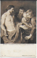 Anvers - Musée Royal D'Anvers : L'incrédulité De St Thomas De Rubens ( Tryptique Panneau Central ) - Antwerpen