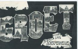 Scherpenheuvel - Groet Van Scherpenheuvel - 1907 - Scherpenheuvel-Zichem