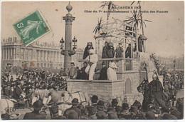 75 PARIS Ve  Mi-Carême 1907 Char Du Ve Arrondissement - Le Jardin Des Plantes - Paris (05)