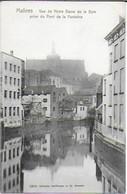 Malines - Vue De Notre Dame De La Dyle Prise Du Pont De La Fontaine - Mechelen