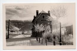 - CPA LANS (38) - L'hiver à Lans - La Gare - Editions Hourlier-Bouquéron 5933.61 - - Andere Gemeenten