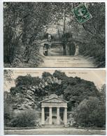 LOT 2 CPA * NEUILLY Sur SEINE Château Saint James : L'ancien Pont Et Le Rocher - Neuilly Sur Seine