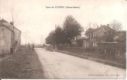 VITREY (70) La Gare De Vitrey En 1933 - Otros Municipios