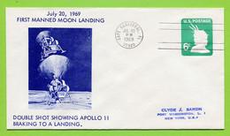 USA, 1969, Space, Espace, Apollo 11, - United States