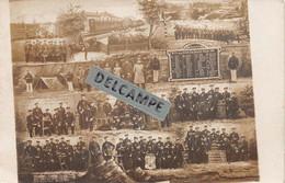 57 - DIEUZE -STRASBOURG - Carte Photo Militaires Allemands Reserve 1905-1907- 6e Cie 3 Unt Infant.Reg.138 - Dieuze