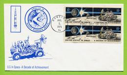 USA, 1971, Space, Espace, Apollo 15, FDC /  MCC Houston - United States