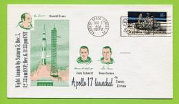 USA, 1972, Space, Espace, Apollo 17 / Launch - United States