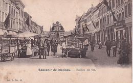 Souvenir De Malines - Bailles De Fer - Ijzeren Leën - Mooie Animatie - Image Artistique Ser. 5 Nr 43 - Mechelen