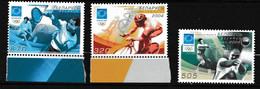 BELARUS BIELORUSSIE 2004   Jeux Olympiques Athènes : Cyclisme, Lancer De Marteau, Tennis - Summer Olympics    3-3v.  MNH - Wit-Rusland