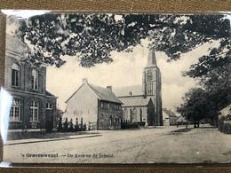 's Gravenwezel De Kerk En De School - Schilde