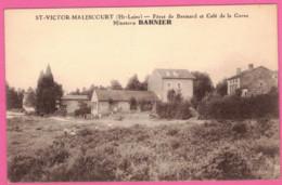 Saint-Victor-Malescours Café De La Gare - Minoterie BARNIER - Fôret De Bramard - Arrondissement  D' Yssingeaux - Altri Comuni