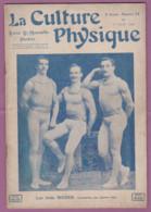 Revue LA CULTURE PHYSIQUE N° 34 Du 01/06/1906 Couverture Les Trois ROEDER - 1900 - 1949