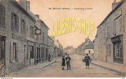 DECIZE (58) CPA ± 1920  FAUBOURG D'ALLIER - HOTEL DU PONT - EDITIONS TRAVARD - TAMINAU (¬‿¬) ♥ - Decize