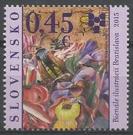 SK 2015-766  ARTS, SLOVAKIA, 1 X 1v, MNH - Neufs