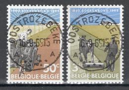 BELGIE: COB 1340/1341  Mooi Gestempeld. - Oblitérés