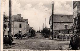 35 CHATILLON Sur SEICHE -   L'Arrivée Route De Noyal - Otros Municipios