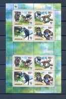 ANGOLA SHEET ANIMALS WWF MNH - Other