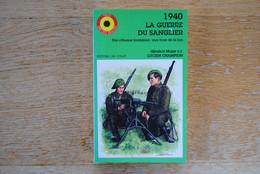 3874/ 1940- La Guerre Du Sanglier -Chasseurs Ardennais - Général Major Lucien CHAMPION  Ed. JM COLLET - Ohne Zuordnung