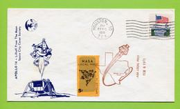 USA, 1971, Space, Espace, Apollo 14,  MCC  Houston - United States