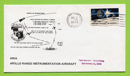 USA, 1972, Space, Espace, Apollo 17,   Tracking  Patrick Air Force Base - United States