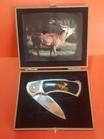 Jolie Couteau Avec Coffret Avec Cran De Fermeture Longueur Totale 18 Cm Voir Les Six Photos - Knives