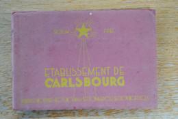 3875/ETABLISSEMENT DE CARLSBOURG-Eventail Des Etudes (Brochure) - Ohne Zuordnung