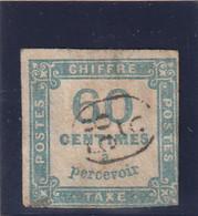 /// FRANCE ///   TAXE  N° 9 Côte 150€ -- 1878 - 1859-1955 Gebraucht
