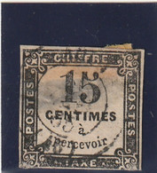 /// FRANCE ///   TAXE  N° 3 Côte 15€ -- Aminci - 1859-1955 Gebraucht