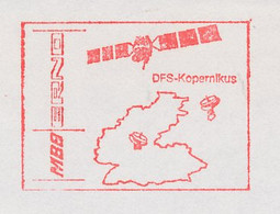 Meter Cut Germany 1989 Telecommunication Satellite Copernicus - MBB - ERNO - Astronomùia