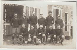 Sport : Football :  CA De  Paris  1928 ( Carte Photo A. Bienvenu , Raspail  ) - Fútbol