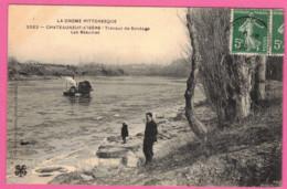 Châteauneuf-sur-Isère Travaux De Sondage De L' Isère - Les Beaumes   * Drôme 26300 * Arrondissement  Valence - Altri Comuni
