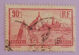 """FRANCE YT 290 OBLITÉRÉ """"LE PUY EN VELAY"""" ANNÉE 1933 - Used Stamps"""