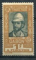 Gabon      Taxe      20  * - Timbres-taxe
