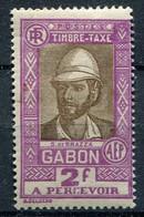 Gabon      Taxe    21  * - Timbres-taxe