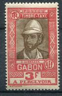 Gabon      Taxe    22  * - Timbres-taxe