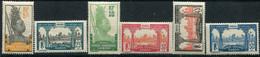 Gabon      82/87 ** - Unused Stamps