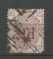 GRANDE BRETAGNE    1883  N°   74  Obl - Gebraucht