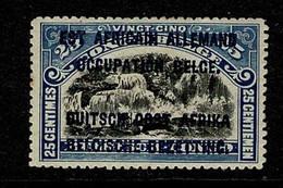Ruanda Urundi 1916 OBP/COB 31* Type B MH Gom Verkleurd / Gomme Décolorée (2 Scans) - 1916-22: Mint/hinged