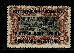 Ruanda Urundi 1916 OBP/COB 32** Type B MNH Gom Verkleurd / Gomme Décolorée (2 Scans) - 1916-22: Mint/hinged