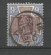 GRANDE BRETAGNE    1887  N°   101  Obl - Gebraucht