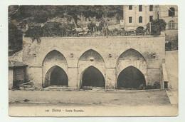 SIENA -FONTE BRANDA 1914 VIAGGIATA FP ( PICCOLO FORELLINO FINE FIRMA RETRO ) - Siena