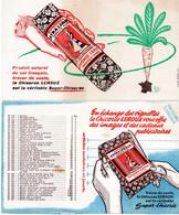 LOT 2 BUVARD CHICOREE LEROUX - Süssigkeiten & Kuchen