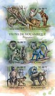 Mozambique 2011 MNH - Primates. Y&T 4142-4147, Mi 5036-5041, Scott 2349 - Mozambico