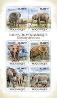 Mozambique 2011 MNH - Elephants Of Savana. Y&T 4016-4021, Mi 4987-4992, Scott 2353 - Mozambique
