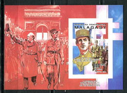 Thème Général De Gaulle - Madagascar - Yvert BF 987 - Neuf Xxx Non Dentelé - Lot 316 - De Gaulle (General)