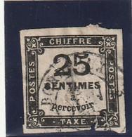 /// FRANCE ///   TAXE  N° 5 Côte 65€ -- Plus Que Deuxieme Choix - 1859-1955 Gebraucht